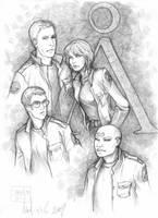Stargate SG1 by martinacecilia