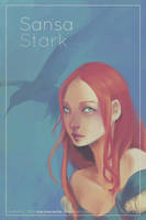 Girls of Westeros - Sansa by martinacecilia