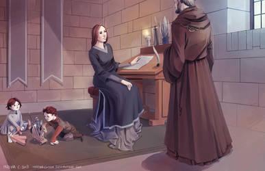 Winterfell by martinacecilia