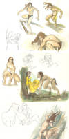 Tarzan by martinacecilia