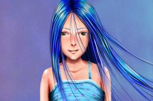 Female Portrait by AlterIris