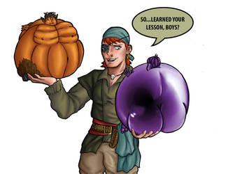 Halloween Horseplay by InItforthePics