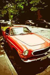 Red Car by Daaang