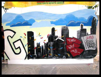 2010 YOG Graffiti Competition by newa