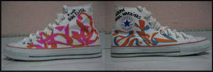 Custom Shoes Pt. 3 by newa
