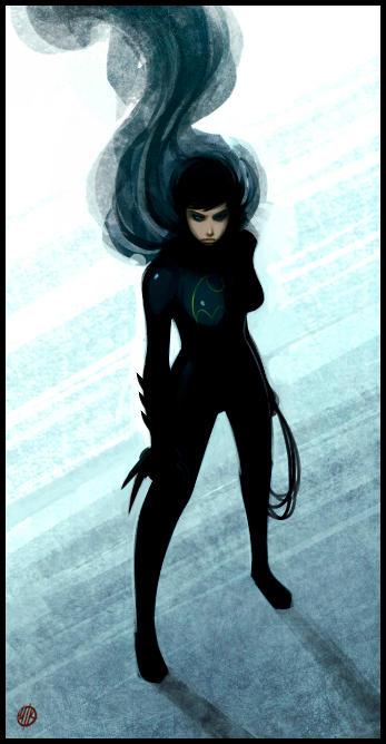 Batgirl by IronShrineMaiden