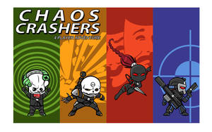 Chaos Crashers - colored by IronShrineMaiden