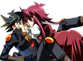 Yusei x Aki x3 by Decora-Girl-Nyappy