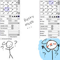 Pretty Much My Main Pen Settings by Natsukoii