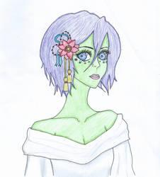 Alien!Rukia by dramatic101