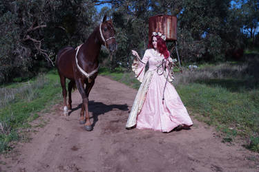 renaissance horse ride 7 by The-Wild-Kat