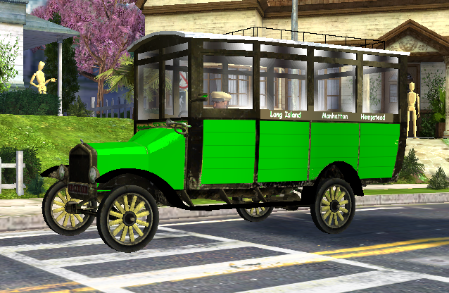 Green Bus by lefty2016