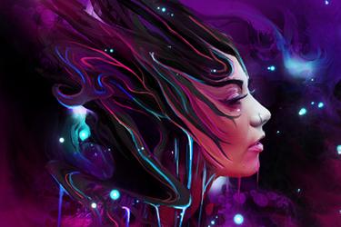 Girl2 by iagoblack