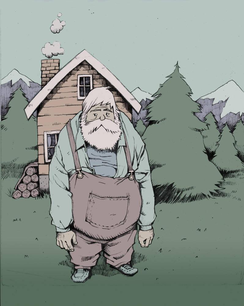 Mountain Man by PesthDeLinz