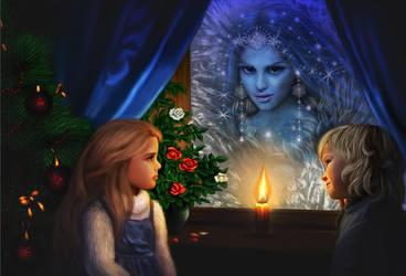Snow Queen by lilok-lilok