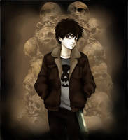 Nico Di Angelo by AireensColor