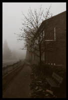silent hill : near the school by d3r-t
