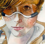 OVERWATCH - Ginger TRACER V2 by Why2be