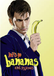 Doctor Who: Let's go BANANAS by jagwriter78