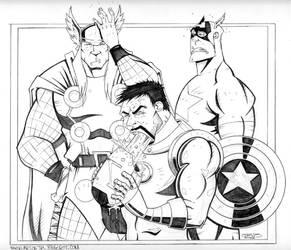 Avengers Assemble by THEjesusmarquez