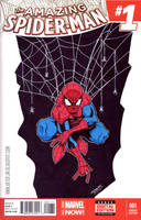 SpiderMan Sketch Cover. by THEjesusmarquez