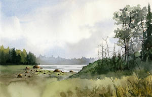 Karelian summer by Filat
