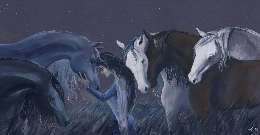 The darkening of Valinor / 2 by Filat