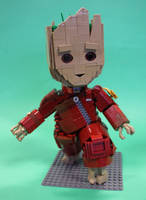 Baby Groot by Stevolteon