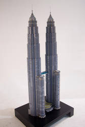 The Petronas Towers by Stevolteon