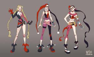 Harley Quinn Jinx by foxcrusade