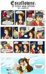Escaflowne: If Foxy Was Hitomi by LeafFox