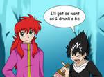 Hiei is Want by LeafFox