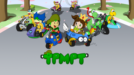 TPMPT Mario Kart 8 Intro Screen by LeafFox