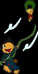 Toad Patrol Secret Santa: Makeshift Kite by LeafFox