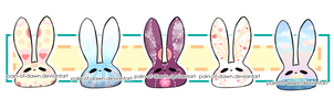 OPEN Cute Bunny Adopts |Varied Themed 2| by Pain-of-Dawn