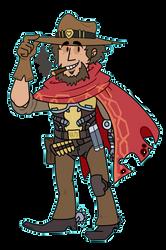 McCree Cowboy by maskarie