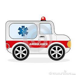 Cartoon Ambulance Car by zonnyjhon