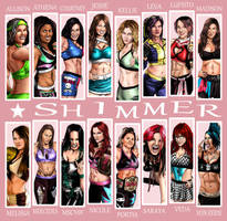Shimmer Wrestlers by quibly
