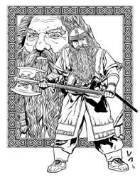 Gimli inks by quibly