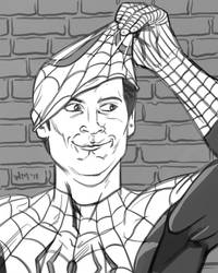 Spider-Man Unmasked by quibly