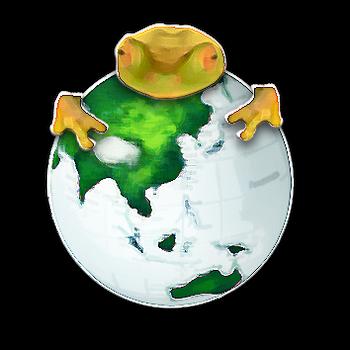evil frog by Novaseerage