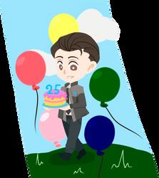 |DBH|  Happy Birthday! by TuncHawk