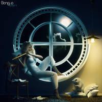 Midnight Melody by SenZzo-art