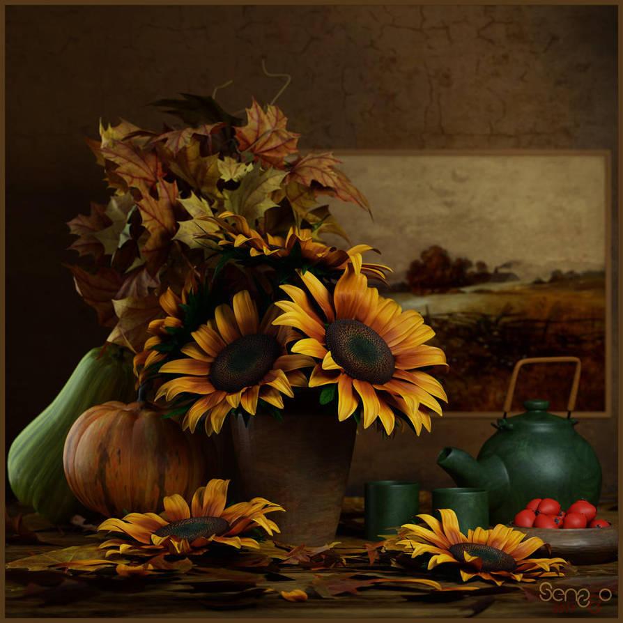 Autumn II by SenZzo-art