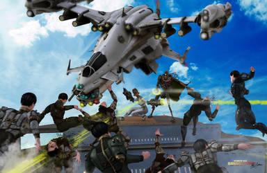 HAWC Action Force Six The Annihilators by G-Mantis