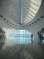 Milwaukee Art Museum Rotunda by Andimia