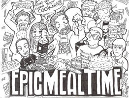 Epic Meal Time 6-6-11 by ManiacMcGee01