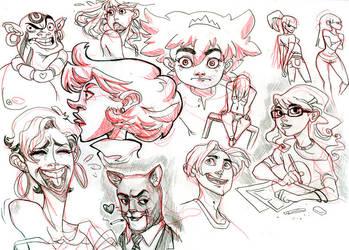 Doodles 5 by KarlaDiazC