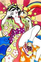 geisha pop by KarlaDiazC