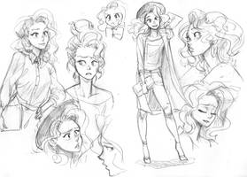 Sketches ANA by KarlaDiazC